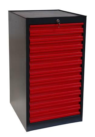 armoire servante d 39 atelier 12 tiroirs mobilier d 39 atelier. Black Bedroom Furniture Sets. Home Design Ideas