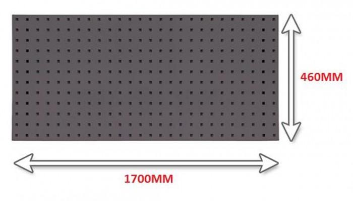 Panneau porte outils 1700 mm anthracite