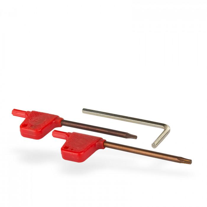 Outils au carbure pour tour à métaux 7 pièces 12 x 12 mm