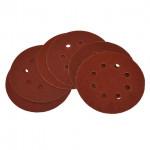 Disques abrasifs 60/80/100 pour G58130 et G58523 - lot de 6