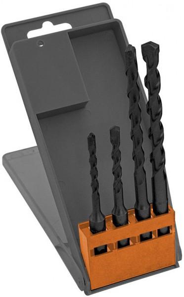 Forets béton SDS en coffret 5 - 6 - 8 - 10 mm