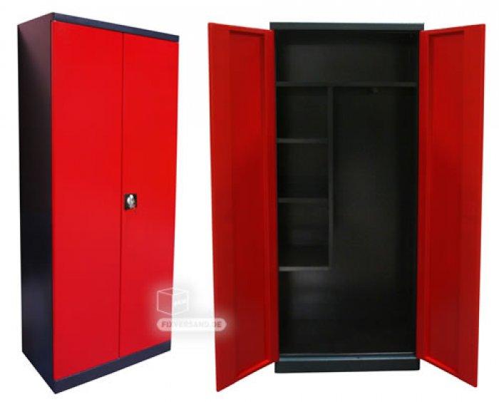 armoire enfant rouge