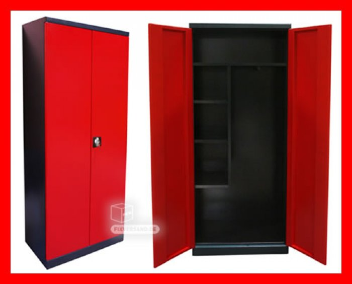 armoire enfant rouge lits superposs julien xxcm armoire. Black Bedroom Furniture Sets. Home Design Ideas
