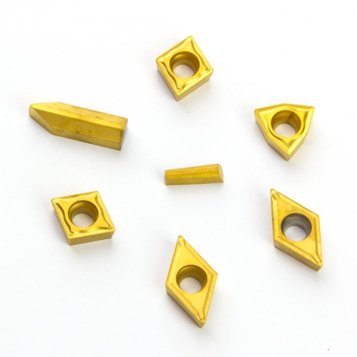 Plaquettes de rechange pour outils tour à métaux