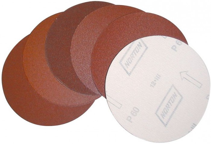 Disques abrasifs - Grain 100 - Ø 150 mm - lot de 3