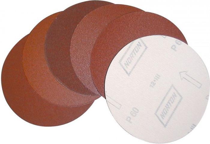 Disques abrasifs - Grain 60 Ø150 mm - lot de 3 - pour G55135 - G40026