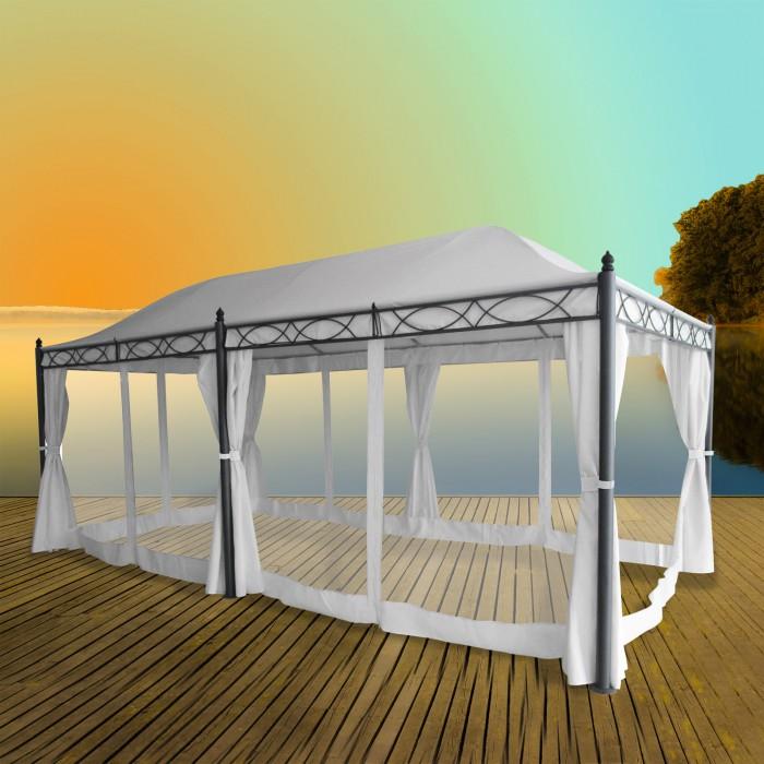 """Tonnelle - Pavillon """"DOHA"""" 3 x 5,9 m"""