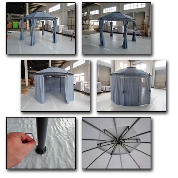 """Tonnelle - Pavillon """"SEVILLA"""" 3,5 m"""