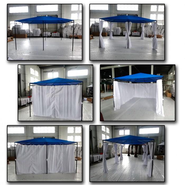 """Tonnelle - Pavillon """"MONACO"""" 4 x 3 m"""