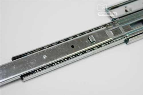 Rails glissière télescopique 2 pièces pour tiroir 250 mm