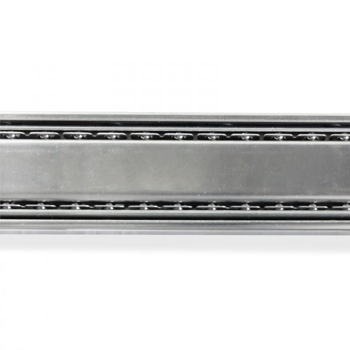Rails à glissière télescopique pour tiroir - 2 pièces, 350 mm