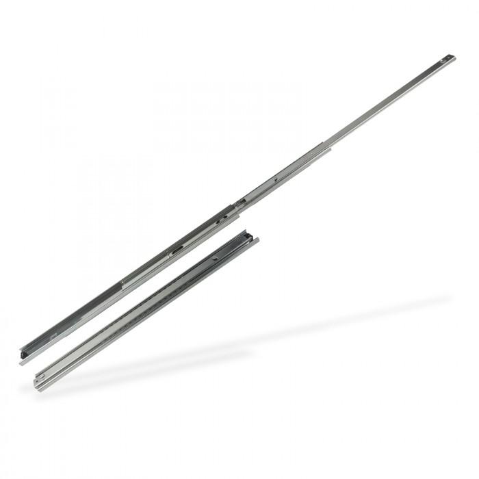 Rails glissière télescopique 2 pièces pour tiroir 350 mm