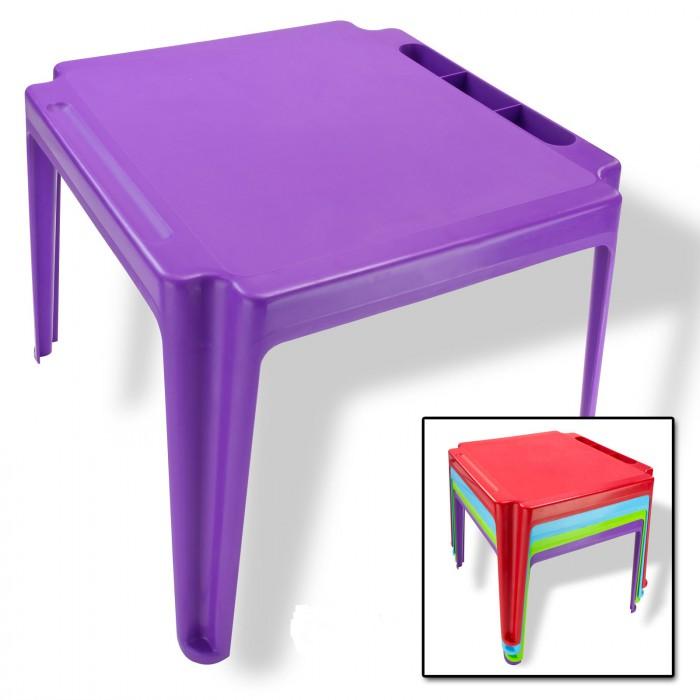 Table pour enfants en PVC violet