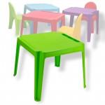 TABLE POUR ENFANTS EN PVC VERT