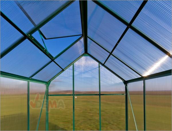 Serre de jardin alu 3,4 m²