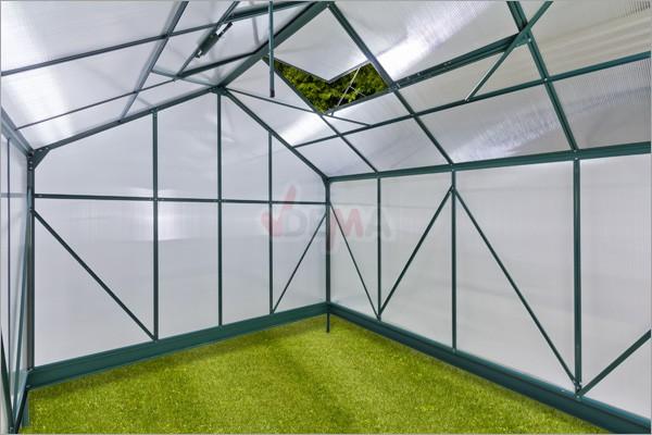 """Serre de jardin alu """"DEN HAAG"""" 7 m²"""