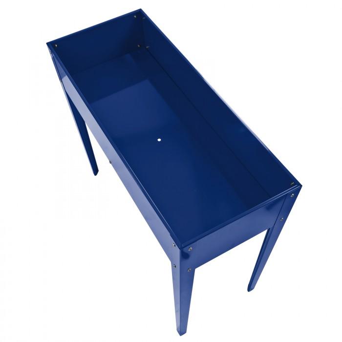 Carré potager surélevé bleu