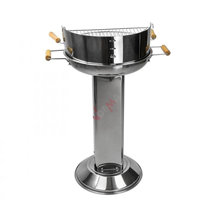 """Barbecue sur pied colonne design """"Aruba"""""""