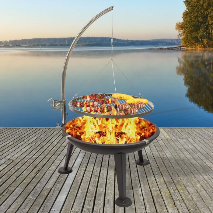 Barbecue suspendu Oregon