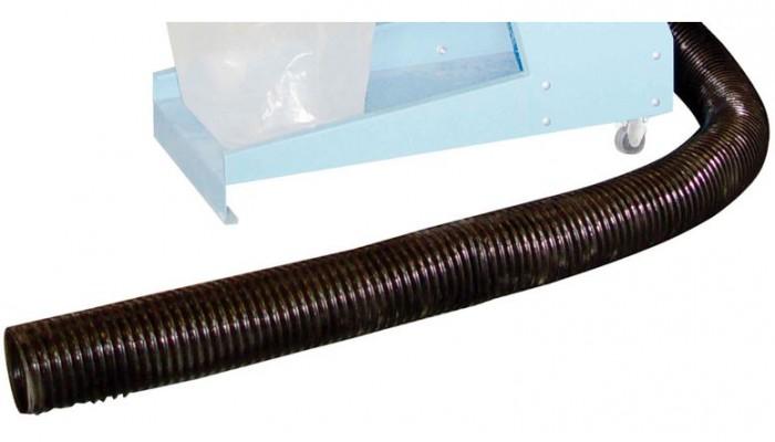 Tuyau d'aspiration flexible 2m pour aspiration copeaux Accessoires machine GUEDE # Tuyau Aspiration Machine A Bois