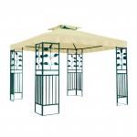 Tonnelle - Pavillon métallique 3 x 3 m