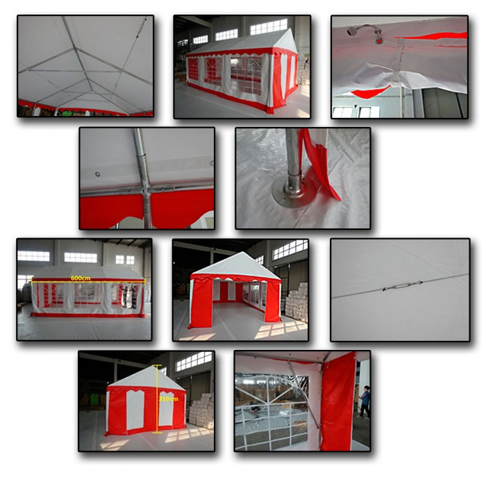 "Tente de reception pavillon ""OSLO"" - 4 x 6 m"