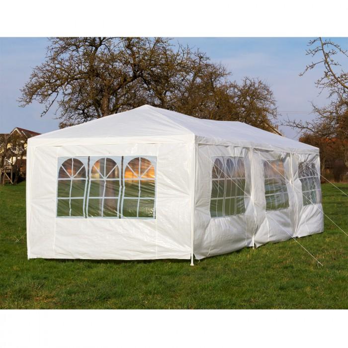 tente de reception tonnelle pavillon 3 x 9 m plein air. Black Bedroom Furniture Sets. Home Design Ideas