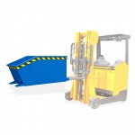 Benne basculante pour chariot élévateur - 300 kg