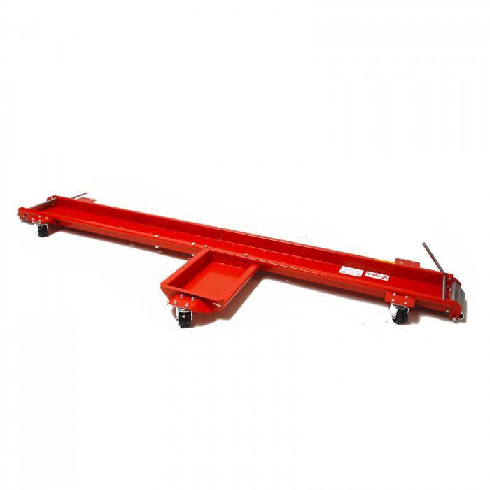 Rail de rangement moto - 567 kg - Longueur 1950 mm