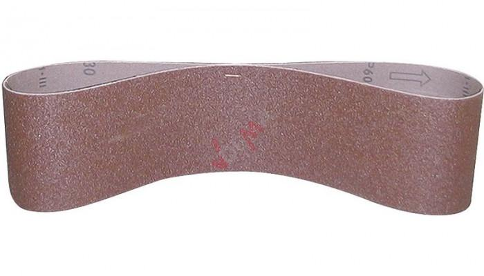Bande abrasive - Grain 80 - 100 x 1220 mm pour G55105