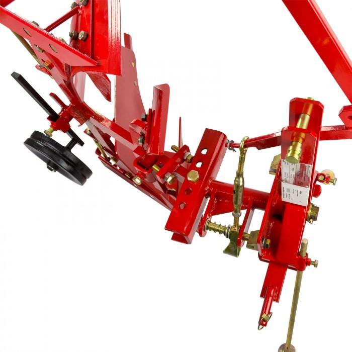 Charrue Brabant réversible DDF 1 pour tracteur Attelage 3 points Cat 1