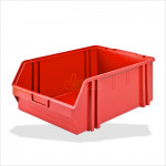 Bac à bec - bac de rangement 305 x 480 x 177 mm rouge
