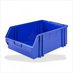 Bac à bec - bac de rangement 305 x 480 x 177 mm bleu