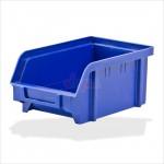 Bac à bec - bac de rangement 103 x 166 x 73 mm bleu