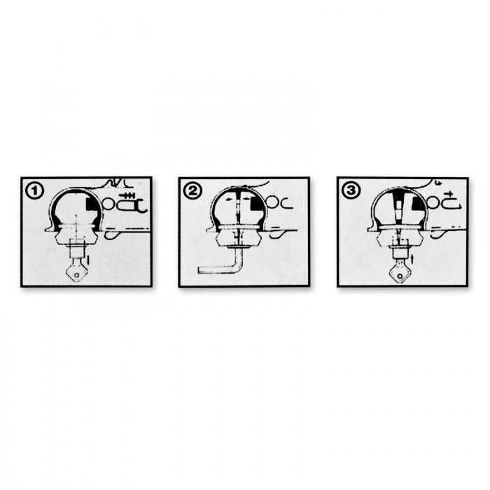 Boule antivol pour tête d'attelage de remorque