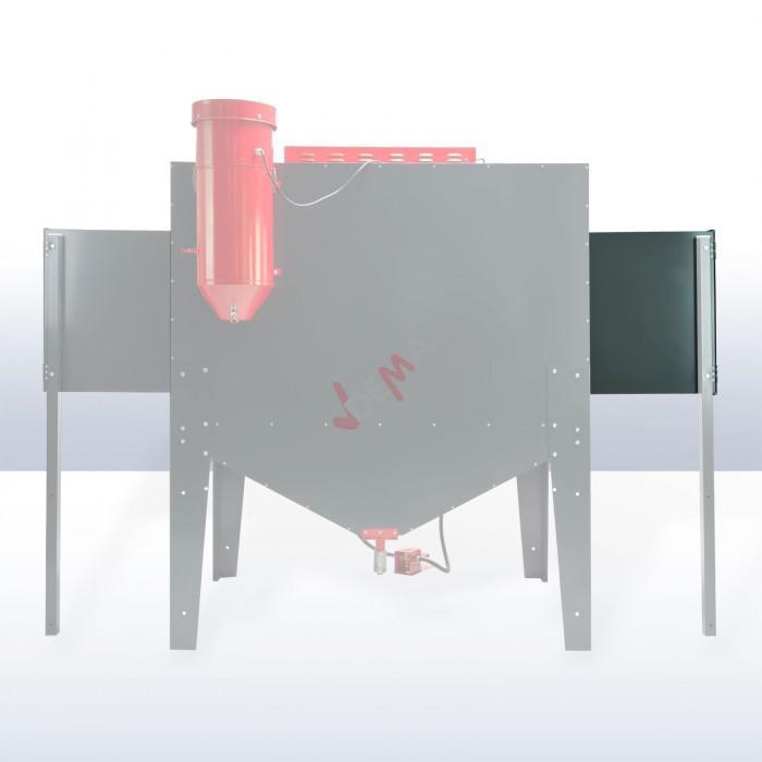 Extension - Elargisseur gauche pour cabine de sablage/ sableuse D24281