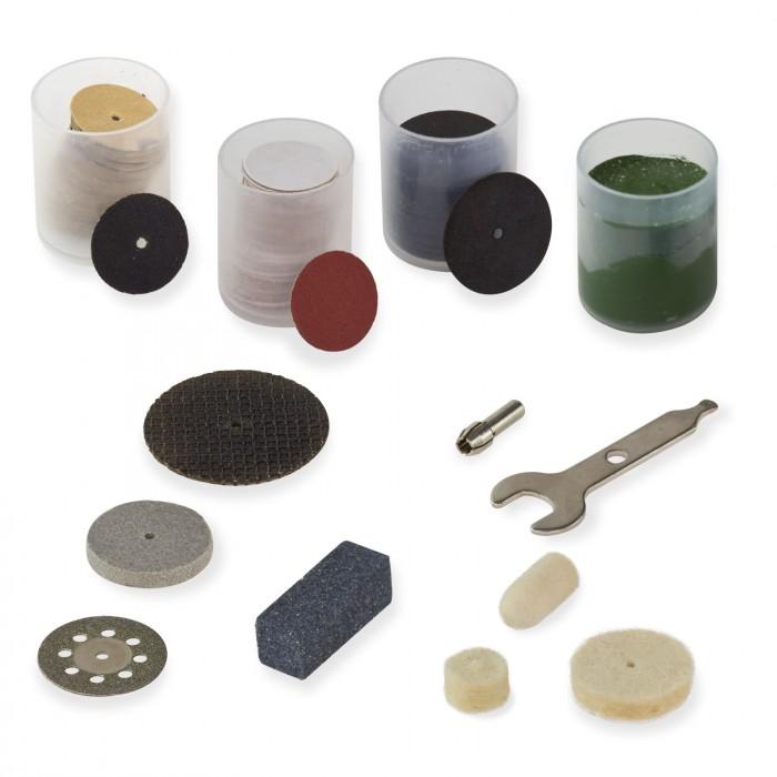 Coffret accessoires pour mini ponceuse multifonctions - 278 pièces