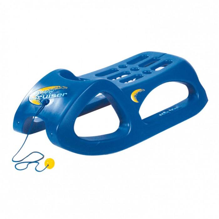Luge Snow Cruiser bleue