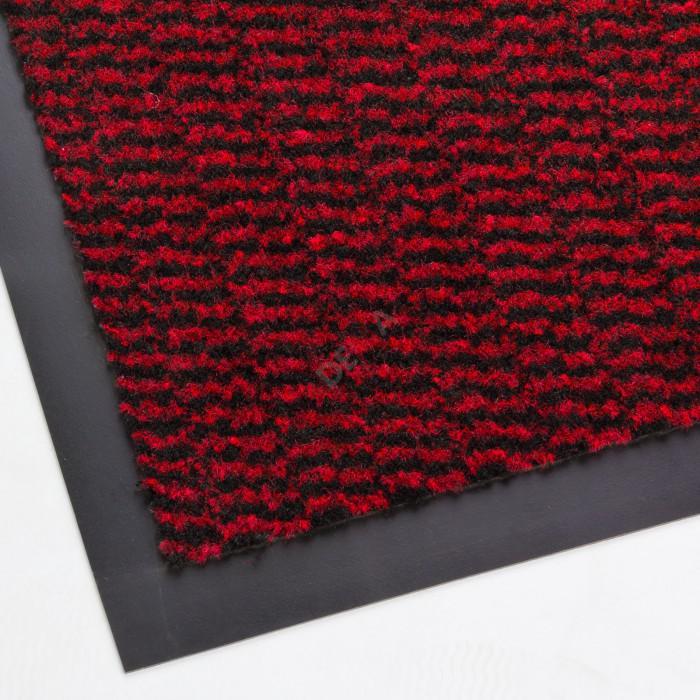 Paillasson - Tapis d'entrée SPEKTRUM 40x60 cm rouge