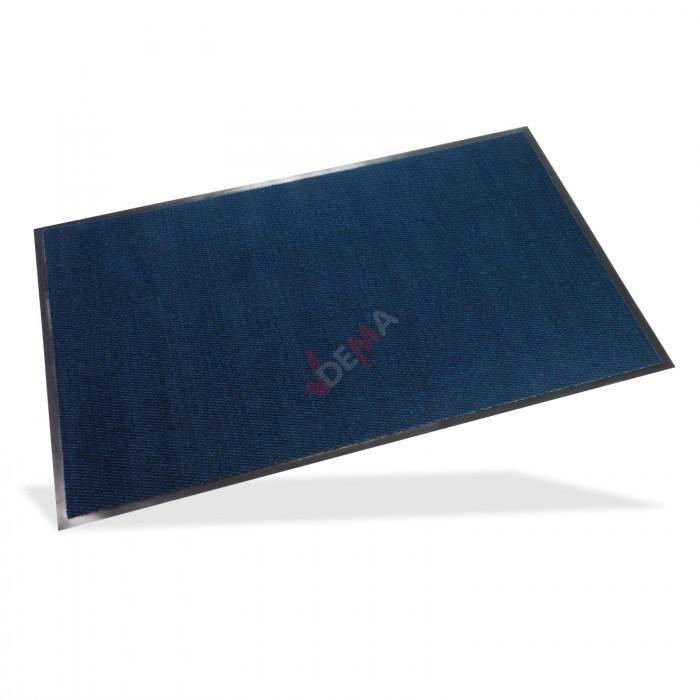 Paillasson - Tapis d'entrée SPEKTRUM 80x120 cm bleu