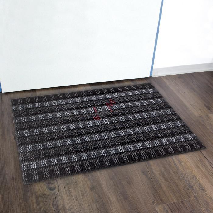 Paillasson - Tapis d'entrée Scrape 40 x 60 cm Anthracite