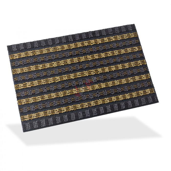 Paillasson - Tapis d'entrée Scrape 40 x 60 cm - Brun