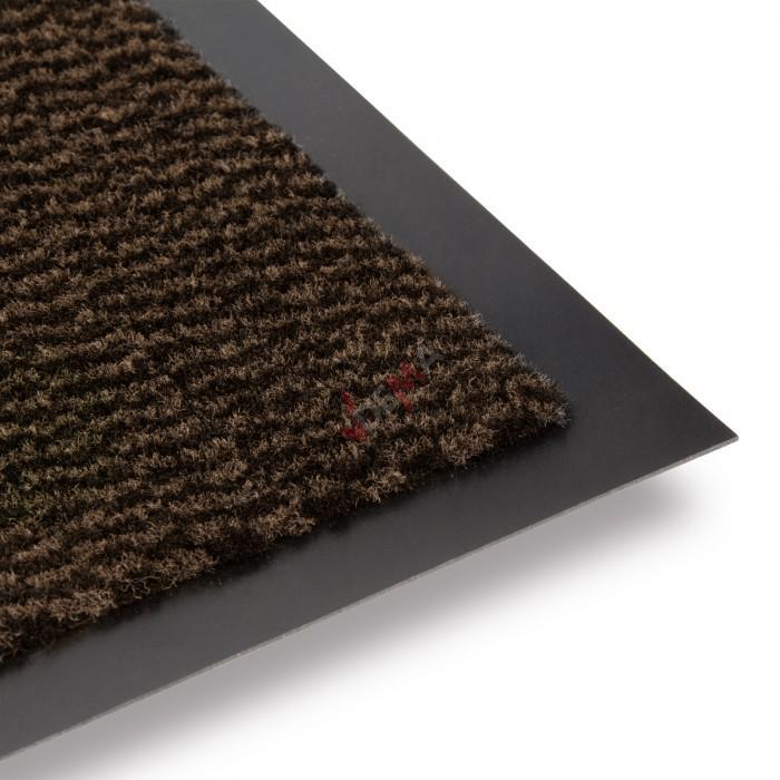Paillasson - Tapis d'entrée Twister 60 x 90 cm - Teak