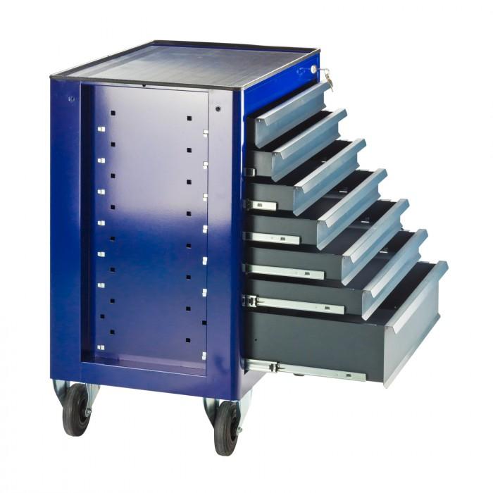 """Servante d'atelier """"Fernando"""" 7 tiroirs - Bleu"""