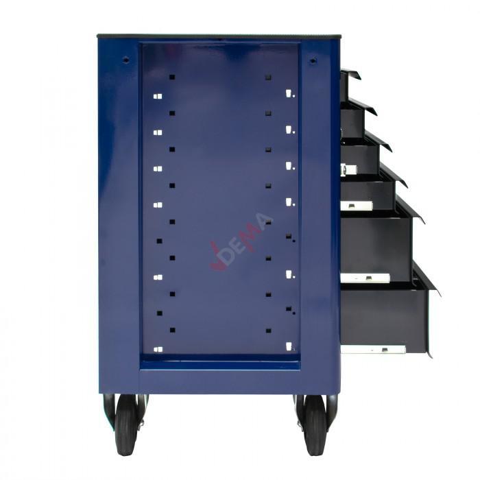 """Servante d'atelier """"Fernando"""" 6 tiroirs - Bleu"""