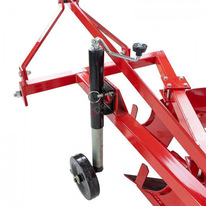 Charrue simple 2 socs pour tracteur - Attelage 3 points catégorie 1