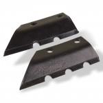 Couteaux de rechange pour mèche de tarière 3 points - 300 mm - D61806