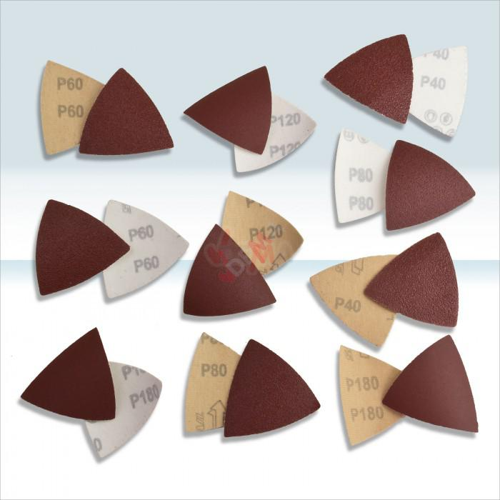 Triangles abrasifs pour outil multifonction D15057 + G58119