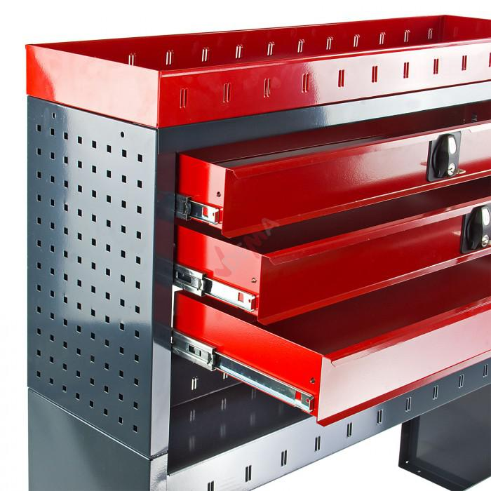 Aménagement 3 tiroirs pour véhicules utilitaires