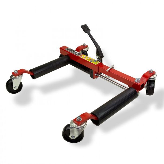 Chariots de déplacement hydraulique - 680 kg/un - Lot de 2
